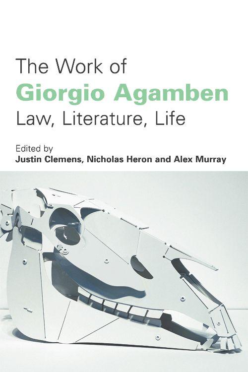 The Work of Giorgio Agamben